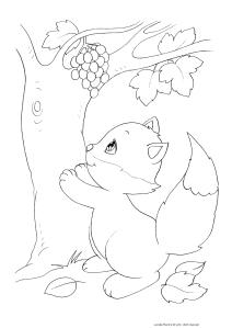 """Disegni da colorare sull'autunno in regalo con l'e-book """"coloro"""
