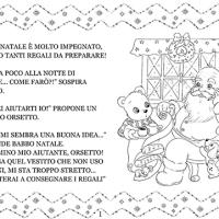 Una storia di Natale da colorare, Orsetto Babbo Natale