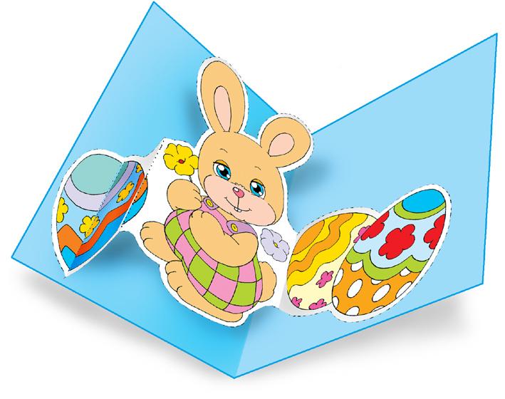 Famoso Pasqua, biglietto pop-up del coniglietto | Le news di Scuola da  JP61