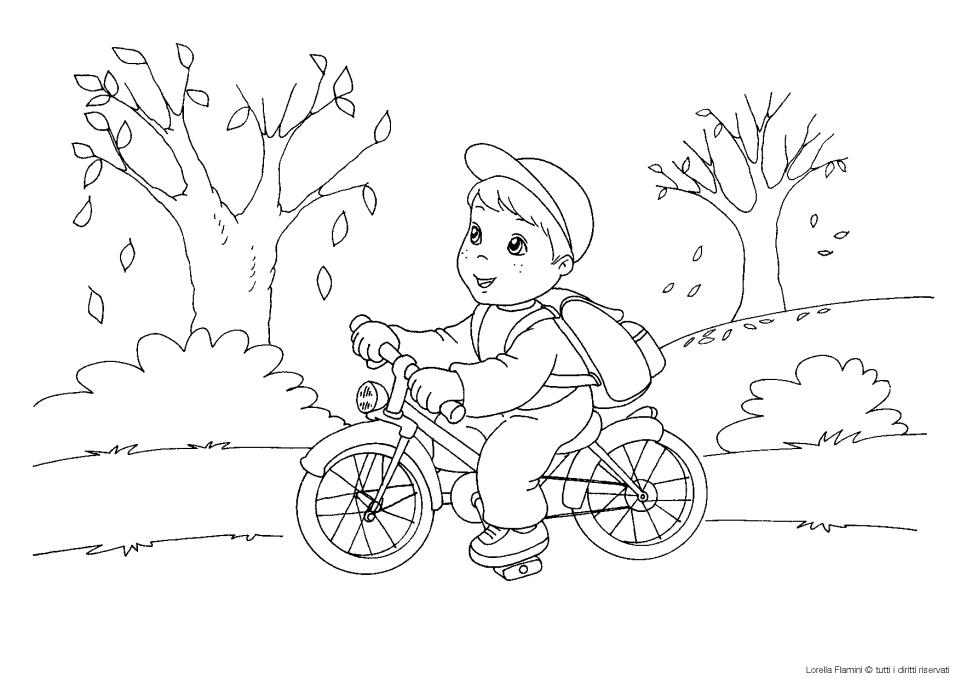 Bicicletta Le News Di Scuola Da Colorareit
