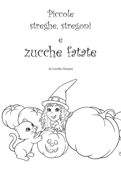 Una storia di Halloween per i bambini dai 3 agli 8 anni da stampare e colorare.