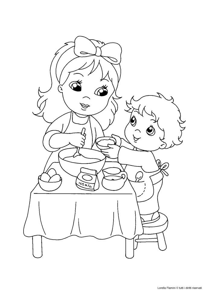 Disegno da colorare festa della mamma le news di scuola for Disegni per la festa della mamma bellissimi