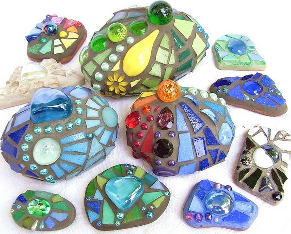 | Mosaico sui sassi