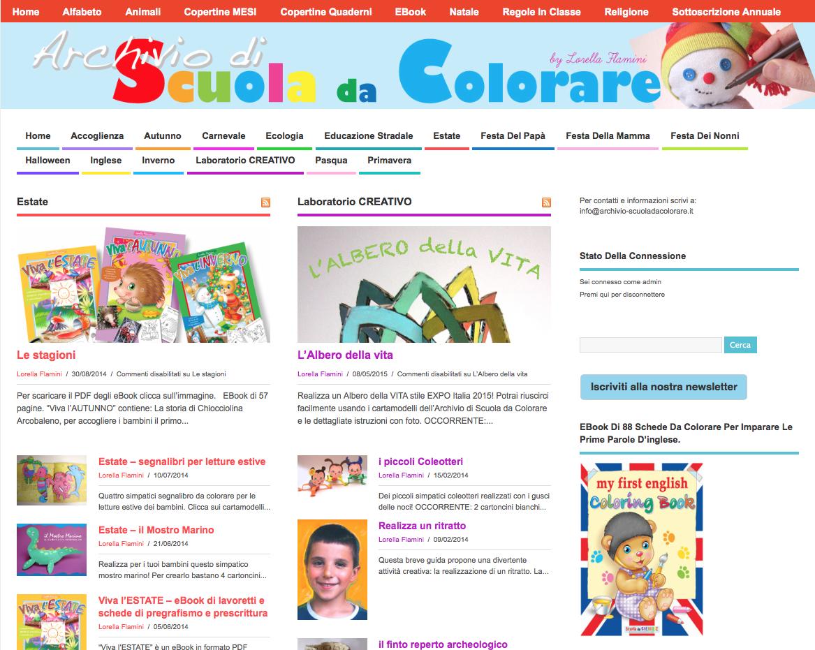 Le News Di Scuola Da Colorareit Disegni Da Colorare Per I Bambini