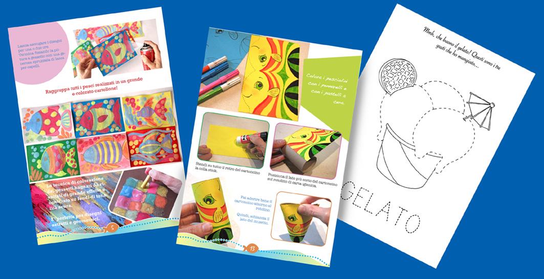 Viva l estate un ebook di lavoretti e schede di for Lavoretti estate scuola dell infanzia