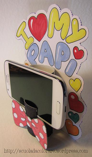Souvent Lavoretto per la Festa del papà… un porta cellulare | Le news di  SV35