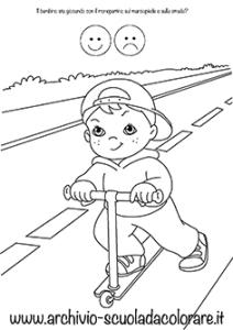 Disegni da colorare sull educazione stradale le news di scuola da - Tasse sull acquisto della prima casa ...