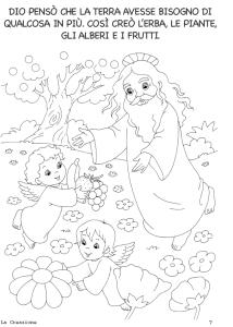 Bibbia la creazione ebook per bambini da colorare le - Foglio da colorare della bibbia ...