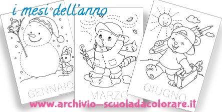 Le news di scuola da disegni da colorare per for Schede didattiche scuola dell infanzia da stampare natale