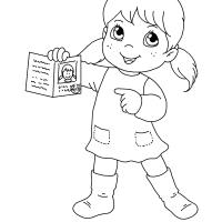 Disegni da colorare sui Diritti dei bambini