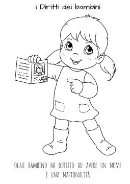 Disegni Da Colorare Sui Diritti Dei Bambini Le News Di Scuola Da