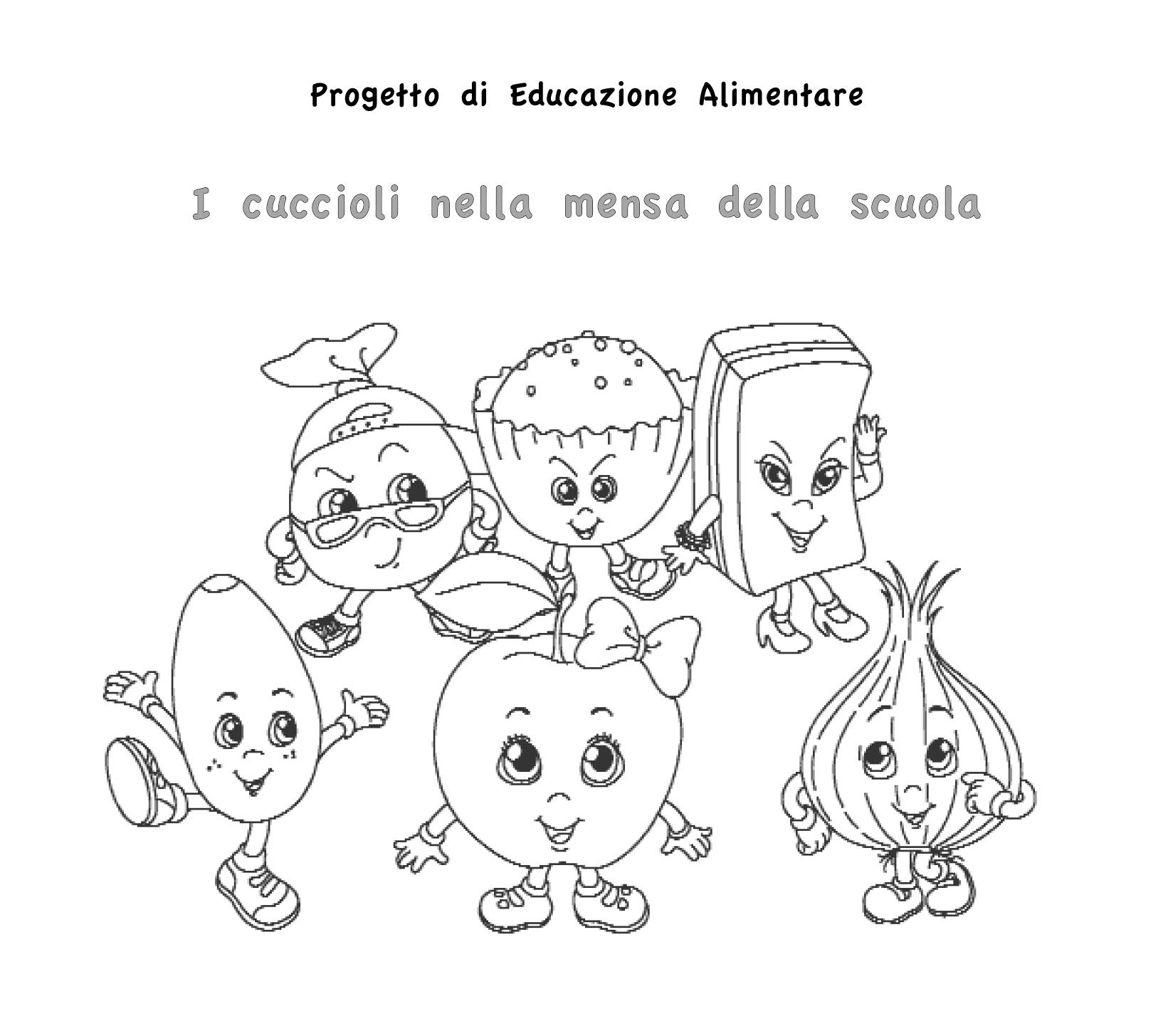 spesso Progetto didattico per bambini sull'alimentazione | Le news di  SJ74
