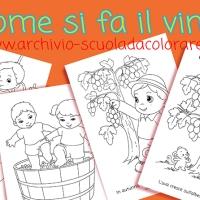 Come si fa il vino, per bambini