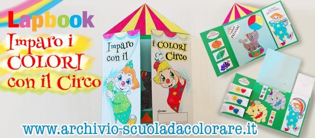 presentazione lapbook colori