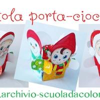 Lavoretto di Natale: come realizzare una scatola porta-cioccolatini