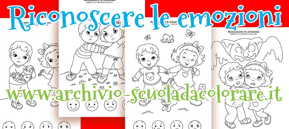 Disegni da colorare sulle emozioni per la scuola d - Torna a scuola da colorare ...