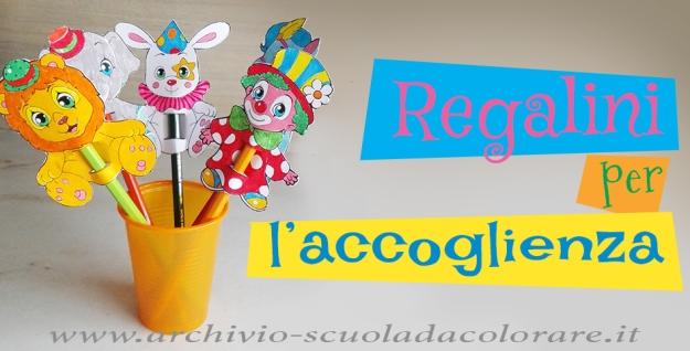 presentazioni regalini clown Pucci