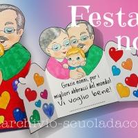 Biglietto per la Festa dei Nonni: i migliori abbracci