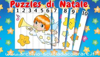 presentazione puzzle natale