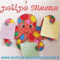 Lavoretto estivo: il polipo Memo